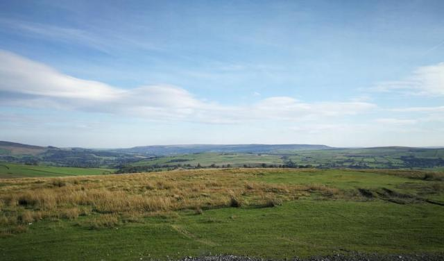 Looking towards Keighley for blog